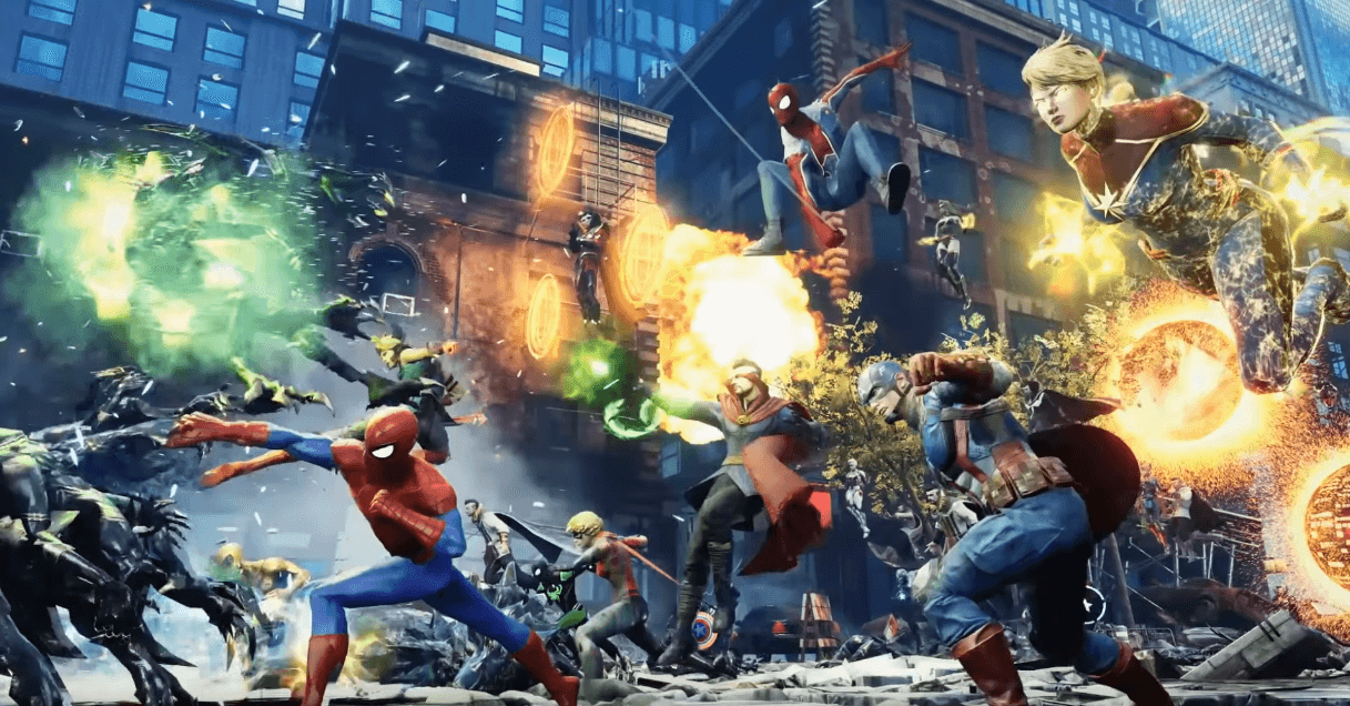 Capture d'écran Marvel Future Revolution Android