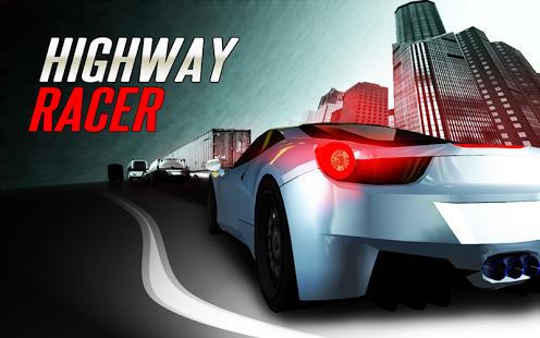 Capture d'écran Highway Racer – Jeu de Course