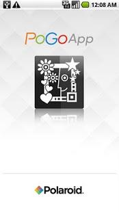 Capture d'écran Polaroid PoGo App
