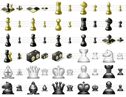Capture d'écran Standard Chess Icons