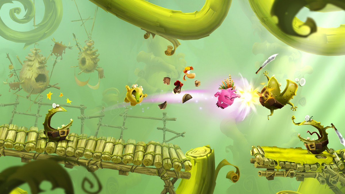 Capture d'écran Rayman Adventures Android