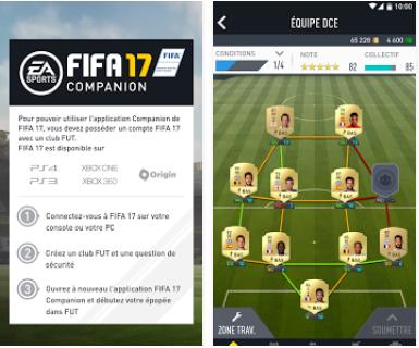 Capture d'écran FIFA 17 Companion Android