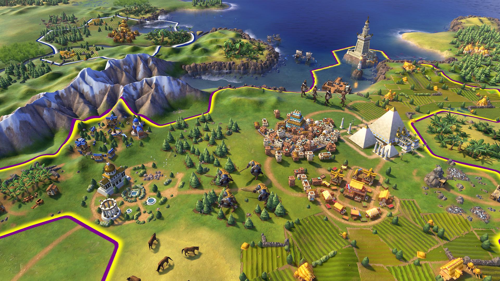 Capture d'écran Civilization VI