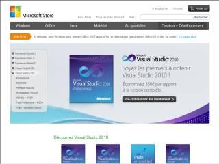 Capture d'écran Visual Studio 2013