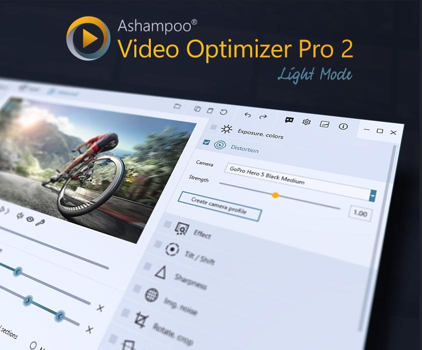 Capture d'écran Ashampoo Video Optimizer Pro