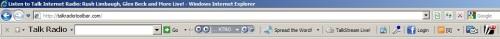 Capture d'écran Streaming Talk Internet Radio