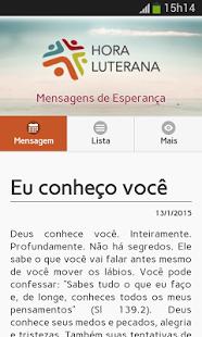 Capture d'écran Mensagens de Esperança