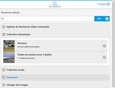 Capture d'écran PicApport 6.3.03/2016