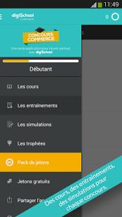 Capture d'écran Concours commerce 2015