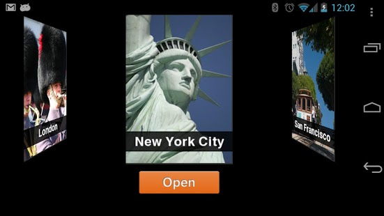 Capture d'écran TripAdvisor City Guides Android