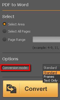 Capture d'écran PDF Converter Elite