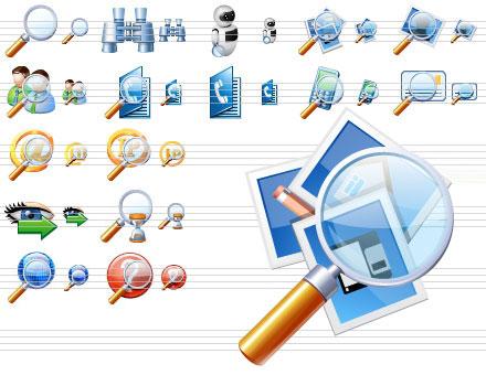 Capture d'écran Search Icons