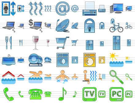 Capture d'écran Standard Hotel Icons