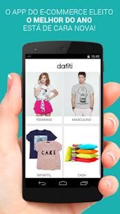 Capture d'écran Dafiti – Moda Online