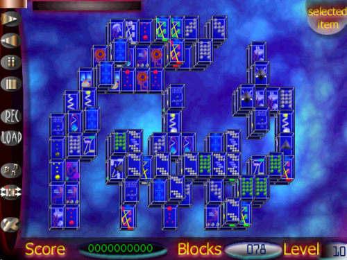 Capture d'écran Mah-Jongger
