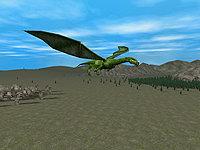 Capture d'écran 3D Dragons