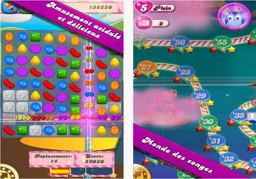 Capture d'écran Candy Crush Saga iOS
