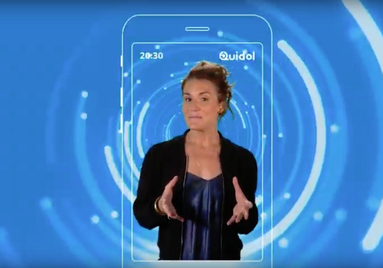 Capture d'écran Quidol iOS