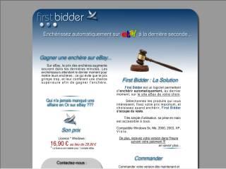 Capture d'écran FirstBidder