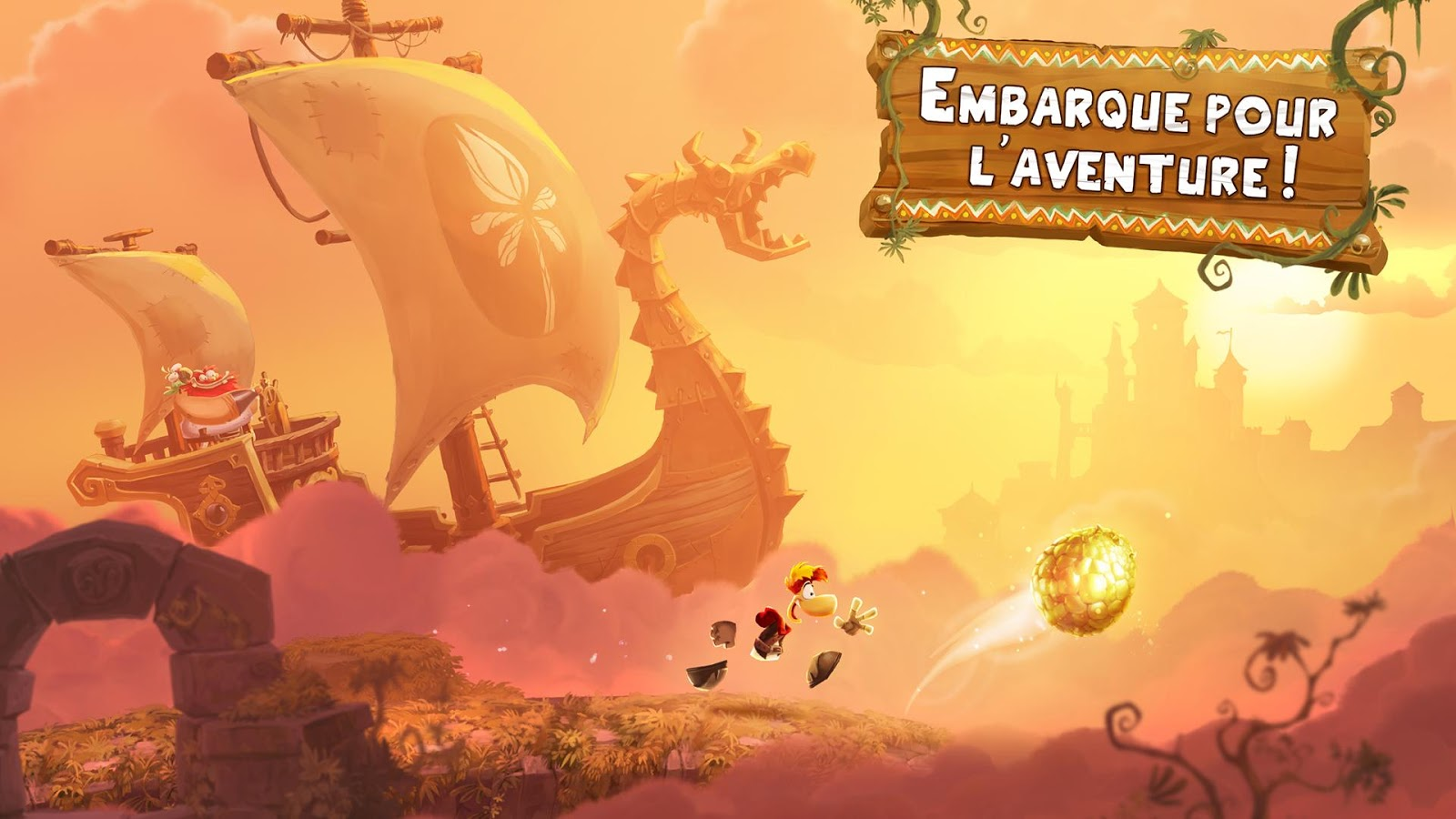 Capture d'écran Rayman Adventures iOS