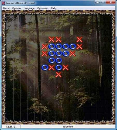 Capture d'écran FreeSweetGames Crossnull