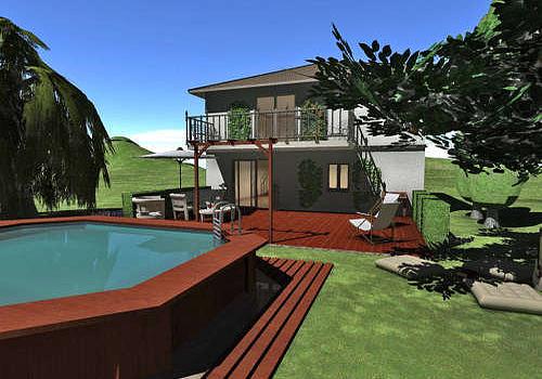 T l charger maison terrain et jardin 3d for Amenagement jardin 3d logiciel gratuit