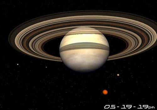 saturn of moving planets screensaver - photo #35