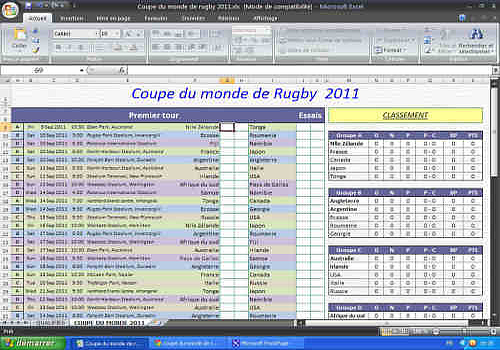 Classement coupe du monde rugby - Classement rugby coupe monde 2015 ...