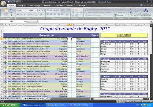 Classement coupe du monde rugby - Classement coupe du monde de rugby ...