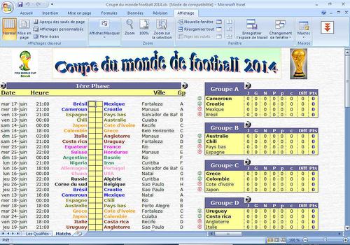 T l charger calendrier suivi coupe du monde 2014 - Programme coupe du monde des clubs 2014 ...