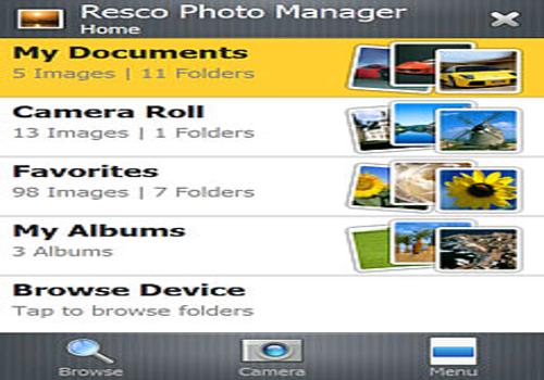T l charger resco photo manager pour mobile for Comparatif logiciel architecture