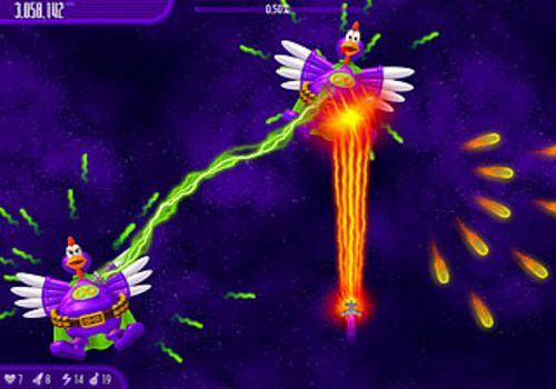 Aperçu de Chicken Invaders 4