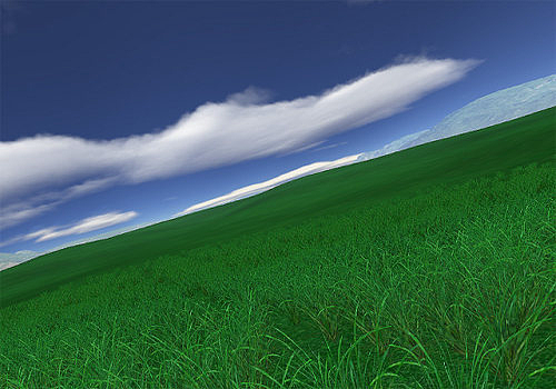 Aperçu de Green Fields 3D screensaver