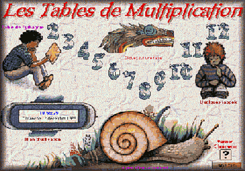 Table de multiplication interactive 28 images t 233 l for Table de multiplication en jouant