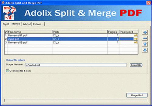 Telecharger Adolix Split And Merge PDF