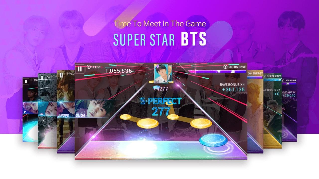 Capture d'écran SuperStar BTS Android
