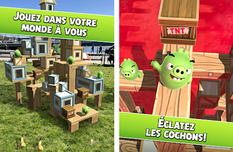 Capture d'écran Angry Birds AR : Isle of Pigs Android