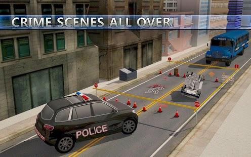 Capture d'écran Parking voiture de police