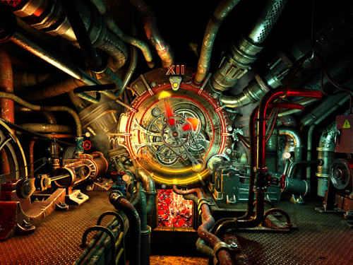 Capture d'écran Steam Clock 3D Screensaver
