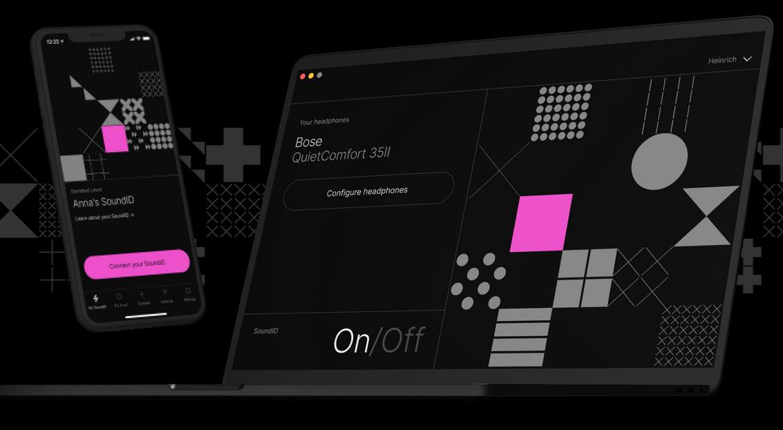 Capture d'écran SoundID Listen