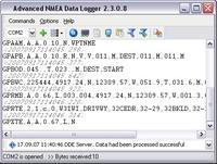Capture d'écran Advanced NMEA Data Logger