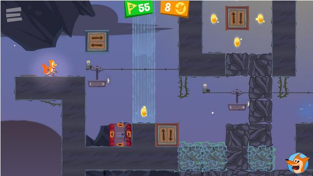 Capture d'écran Flipper Fox iOS