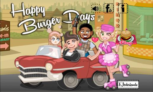 Capture d'écran Les jours heureux de hamburger