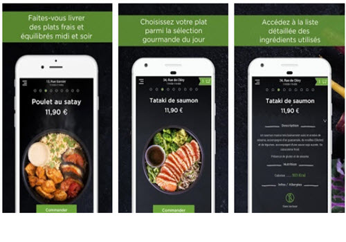 Capture d'écran Pickles iOS