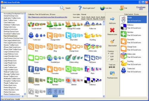 Capture d'écran PNG Icon Portfolio