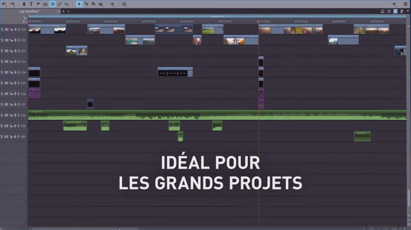 Capture d'écran Magix Video Deluxe Premium 2020