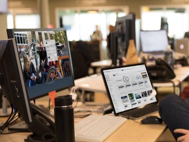 Capture d'écran Widen Enterprise Digital Asset Management (Smartimage)