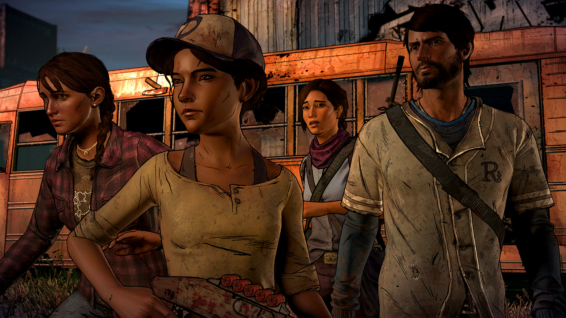 Capture d'écran The Walking Dead : A new frontier