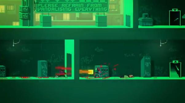 Capture d'écran Not a hero Demo