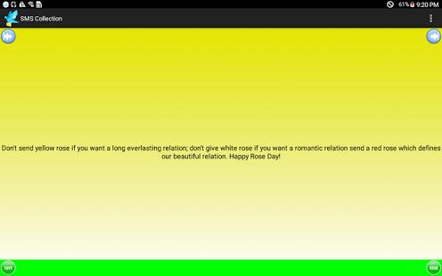 Capture d'écran SMS Messages Collection